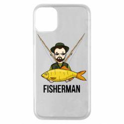 Чохол для iPhone 11 Pro Fisherman and fish