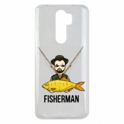 Чохол для Xiaomi Redmi Note 8 Pro Fisherman and fish