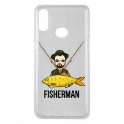 Чохол для Samsung A10s Fisherman and fish