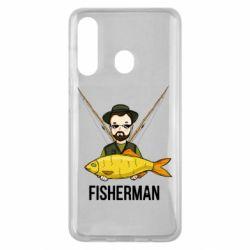 Чохол для Samsung M40 Fisherman and fish