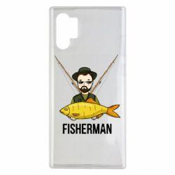 Чохол для Samsung Note 10 Plus Fisherman and fish
