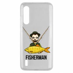 Чохол для Xiaomi Mi9 Lite Fisherman and fish