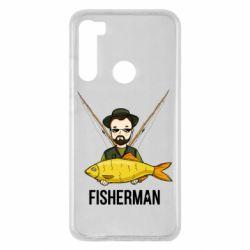 Чохол для Xiaomi Redmi Note 8 Fisherman and fish