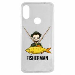 Чохол для Xiaomi Redmi Note 7 Fisherman and fish