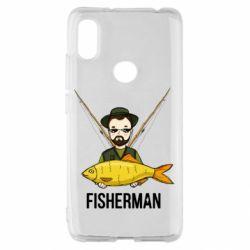 Чохол для Xiaomi Redmi S2 Fisherman and fish