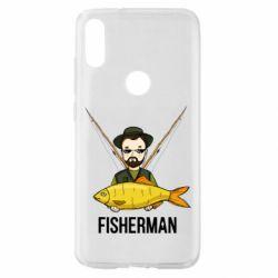 Чохол для Xiaomi Mi Play Fisherman and fish