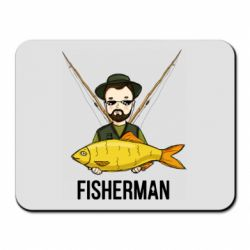 Килимок для миші Fisherman and fish