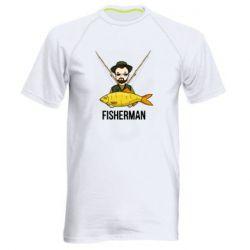 Чоловіча спортивна футболка Fisherman and fish