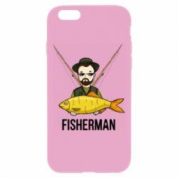 Чохол для iPhone 6 Plus/6S Plus Fisherman and fish