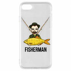 Чохол для iPhone 7 Fisherman and fish