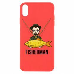 Чохол для iPhone X/Xs Fisherman and fish