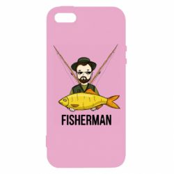 Чохол для iphone 5/5S/SE Fisherman and fish