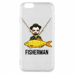 Чохол для iPhone 6/6S Fisherman and fish