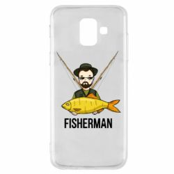 Чохол для Samsung A6 2018 Fisherman and fish