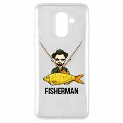 Чохол для Samsung A6+ 2018 Fisherman and fish