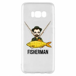 Чохол для Samsung S8 Fisherman and fish