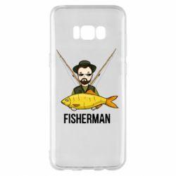 Чохол для Samsung S8+ Fisherman and fish