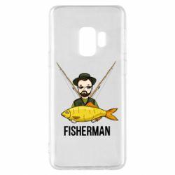 Чохол для Samsung S9 Fisherman and fish