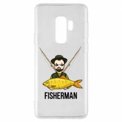 Чохол для Samsung S9+ Fisherman and fish