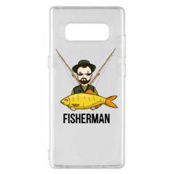 Чохол для Samsung Note 8 Fisherman and fish