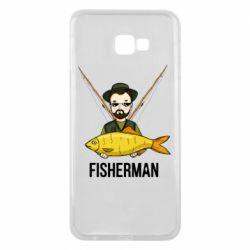 Чохол для Samsung J4 Plus 2018 Fisherman and fish