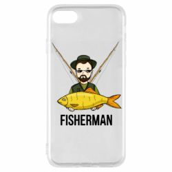 Чохол для iPhone 8 Fisherman and fish