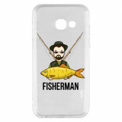 Чохол для Samsung A3 2017 Fisherman and fish