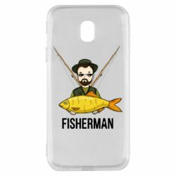 Чохол для Samsung J3 2017 Fisherman and fish