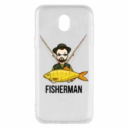 Чохол для Samsung J5 2017 Fisherman and fish