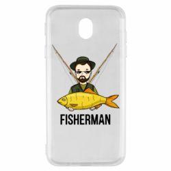 Чохол для Samsung J7 2017 Fisherman and fish