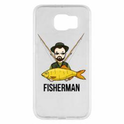 Чохол для Samsung S6 Fisherman and fish