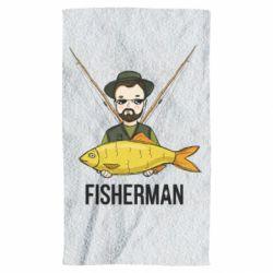 Рушник Fisherman and fish