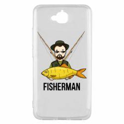 Чоловіча футболка Fisherman and fish