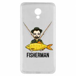 Чоловіча футболка з V-подібним вирізом Fisherman and fish