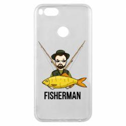 Чохол для Xiaomi Mi A1 Fisherman and fish