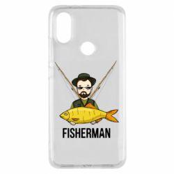 Чохол для Xiaomi Mi A2 Fisherman and fish