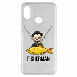 Чохол для Xiaomi Mi8 Fisherman and fish