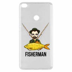 Чохол для Xiaomi Mi Max 2 Fisherman and fish