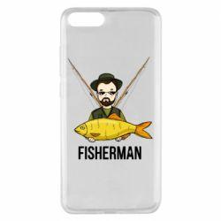 Чохол для Xiaomi Mi Note 3 Fisherman and fish