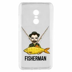 Чохол для Xiaomi Redmi Note 4 Fisherman and fish
