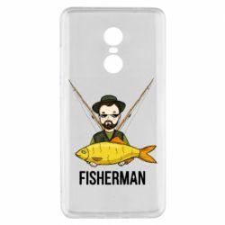 Чохол для Xiaomi Redmi Note 4x Fisherman and fish