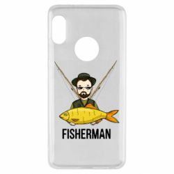 Чохол для Xiaomi Redmi Note 5 Fisherman and fish