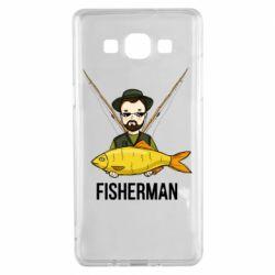 Чохол для Samsung A5 2015 Fisherman and fish