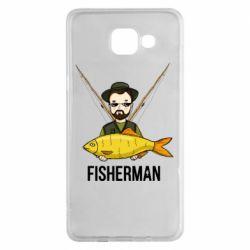 Чохол для Samsung A5 2016 Fisherman and fish