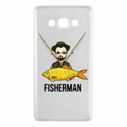 Чохол для Samsung A7 2015 Fisherman and fish