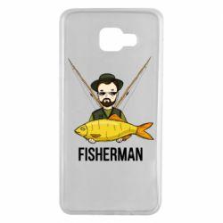 Чохол для Samsung A7 2016 Fisherman and fish