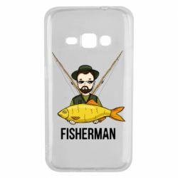 Чохол для Samsung J1 2016 Fisherman and fish