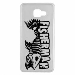Чохол для Samsung A7 2016 Fisherman