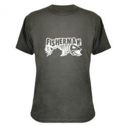 Камуфляжна футболка Fisherman