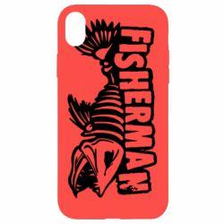 Чохол для iPhone XR Fisherman